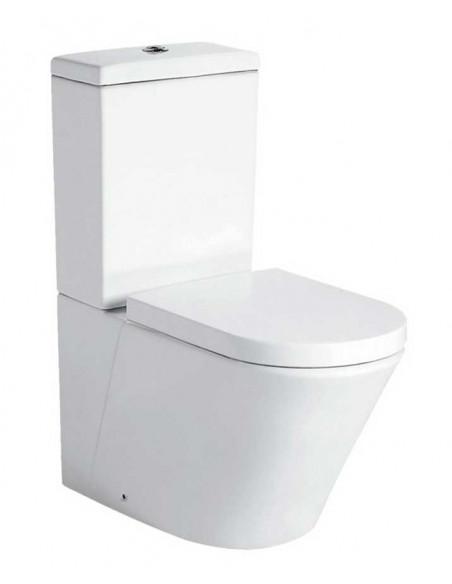 WC AKEN avec reservoir abattant amortisseur duroplast. Système double
