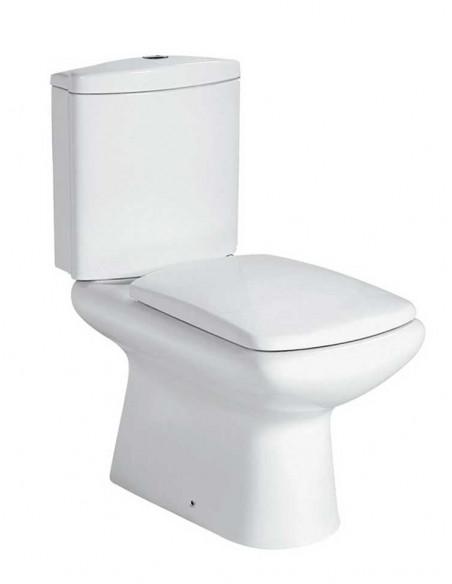 WC Amón avec reservoir abattant amortisseur duroplast. Système double