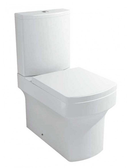 WC AMSET avec reservoir abattant amortisseur duroplast. Système double