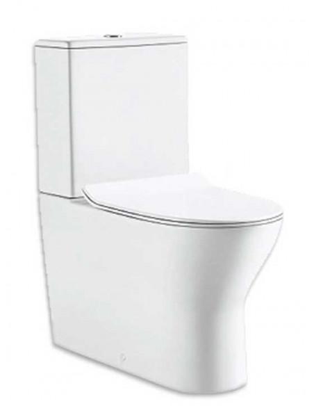 WC BATSI avec reservoir abattant amortisseur duroplast. Système double