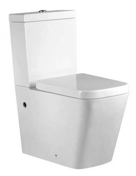WC NEFERTUM avec reservoir abattant amortisseur duroplast. Système double