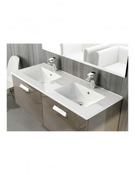 Plan vasque double inclus